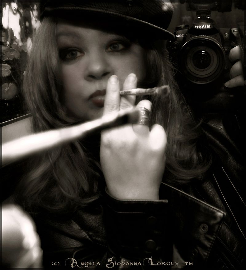 ~FB e SMOKE & MIRRORS SELF PORTRAIT  ANGELA LOROUX 72 DPI  copy copy